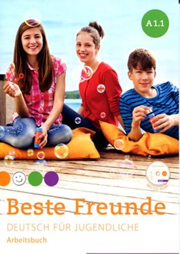 Beste Freunde A1/1: Deutsch für Jugendliche.DaF / Arbeitsbuch mit CD-ROM (แบบฝึกหัด)