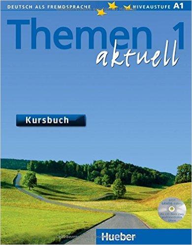 Themen aktuell 1: DaF / Kursbuch mit CD-ROM (แบบเรียน)