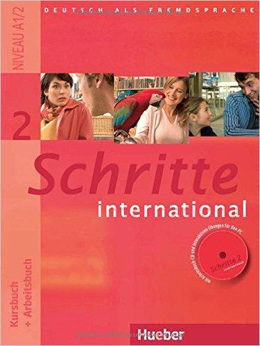 Schritte International 2 Kursbuch +Arbeitsbuch CD zum Abeitsbuch (แบบเรียน+แบบฝึกหัด)