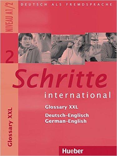 Schritte international 2: Glossary XXL De-Eng Eng-De (หนังสือคำศัพท์ประกอบแบบเรียน Schritte Inter 2)
