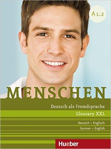 Menschen A1/2: Glossar XXL Deutsch-Englisch (หนังสือคำศัพท์ประกอบแบบเรียน Menschen A1.2)