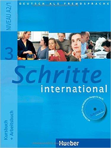 Schritte international 3: DaF / Kursbuch + Arbeitsbuch mit CD zum Arbeitsbuch (แบบเรียน+แบบฝึกหัด)