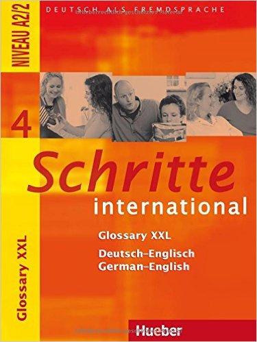 Schritte international 4: DaF / Glossary XXL De-Eng Ge-Eng (หนังสือคำศัพท์ประกอบแบบเรียน Schritte Inter 4)