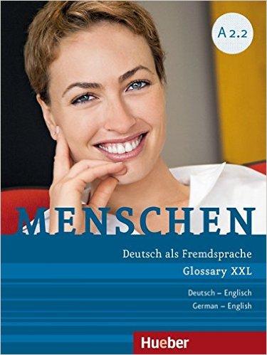 Menschen A2/2: DaF / Glossar XXL De-Eng (หนังสือคำศัพท์ประกอบแบบเรียน Menschen A2.2)