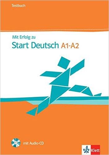 Mit Erfolg zu Start Deutsch 1/2 ((telc Deutsch A1/A2): Testbuch und Audio-CD (คู่มือสอบ ระดับ A1/A2)