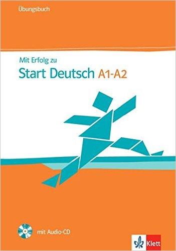 Mit Erfolg zu Start Deutsch 1/2 (telc Deutsch A1/A2): Übungsbuch mit Audio-CD (คู่มือสอบ ระดับ A1/A2)
