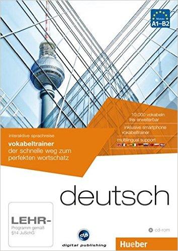 interaktive sprachreise vokabeltrainer deutsch: der schnelle weg zum perfekten wortschatz / 1 CD-ROM (AUTO)