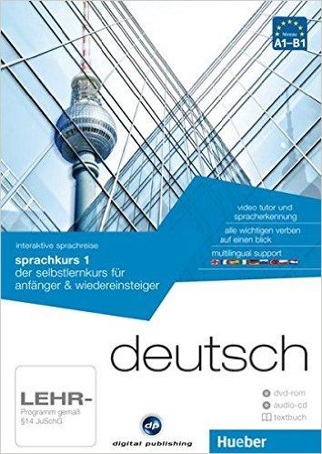 interaktive sprachreise sprachkurs 1 deutsch: der selbstlernkurs für anfänger & wiedereinsteiger / Paket: 1 DVD-ROM + 1 Audio-CD + 1 Textbuch