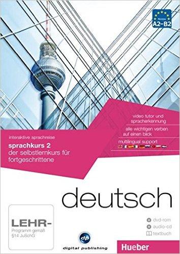 interaktive sprachreise sprachkurs 2 deutsch: der selbstlernkurs für fortgeschrittene / Paket: 1 DVD-ROM + 1 Audio-CD + 1 Textbuch (AUTO)