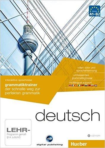 interaktive sprachreise grammatiktrainer deutsch: der schnelle weg zur perfekten grammatik / 1 CD-ROM