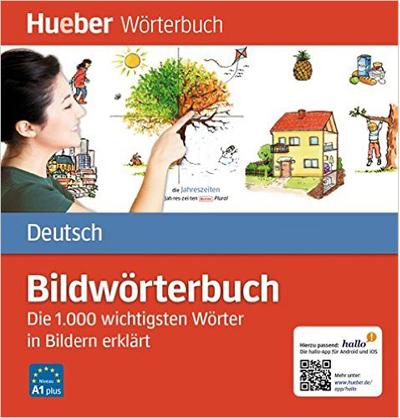 Bildwörterbuch Deutsch: Die 1.000 wichtigsten Wörter in Bildern erklärt (พจนานุกรมรูปภาพ ระดับ A1)