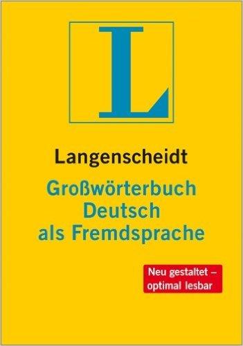 Langenscheidt Großwörterbuch DaF (พจนานุกรม Langenscheidt DaF ปกแข็ง)