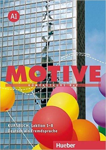 ชุด Motive A1: Kompaktkurs DaF/ KB+AB, Lektion 1–8 (แบบเรียน+แบบฝึกหัด ระดับ A1)