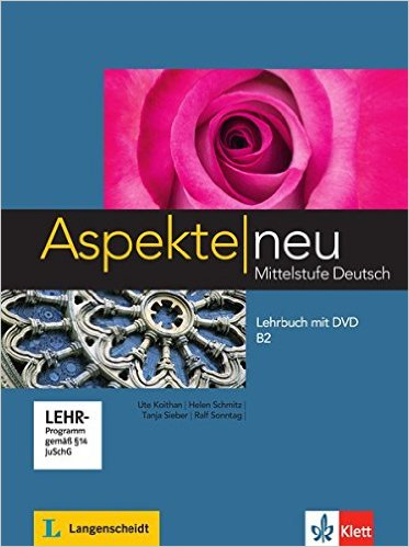 ชุด Aspekte neu B2: KB mit DVD+AB Audio Cd (แบบเรียน+แบบฝึกหัด)