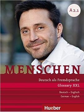 Menschen A2/1: DaF / Glossar XXL De-Eng (หนังสือคำศัพท์ประกอบแบบเรียน Menschen A2.1)