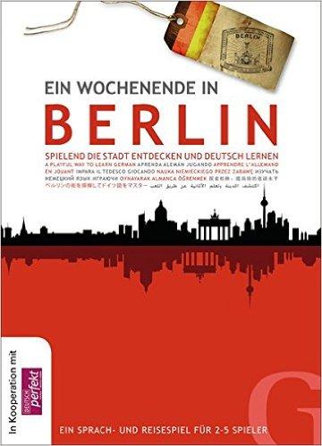 Ein Wochenende in Berlin: Spielend die Stadt entdecken und Deutsch lernen (ชุดเกมส์ สุดสัปดาห์ ในเบอลิน)
