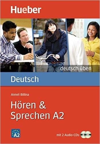 Hören & Sprechen A2: Buch mit 2 Audio-CDs (แบบฝึกหัดฟัง และพูด ระดับ A2)