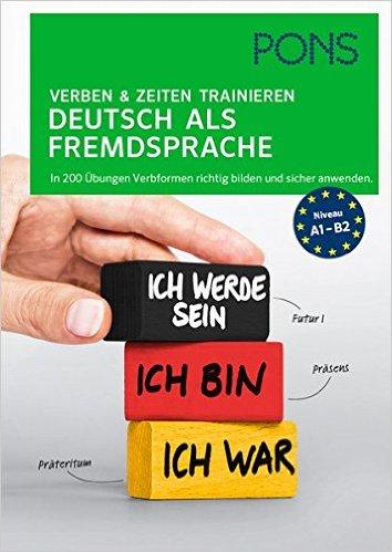 PONS Verben & Zeiten trainieren (ฝึกผันคำกริยา)