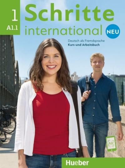 Schritte International Neu 1,  KB mit CD + AB (แบบเรียน+แบบฝึกหัด+ซีดี)