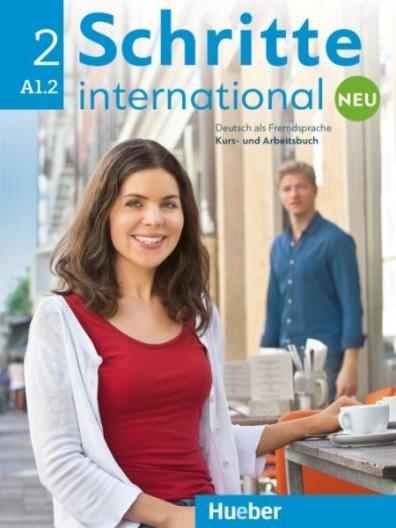 Schritte International Neu 2,  KB mit CD + AB (แบบเรียน+แบบฝึกหัด+ซีดี)